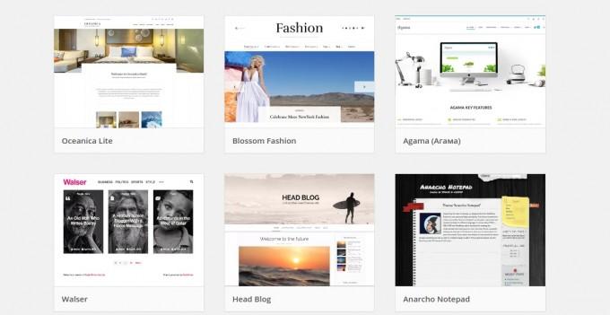 Как выбрать шаблон для сайта на WordPress?