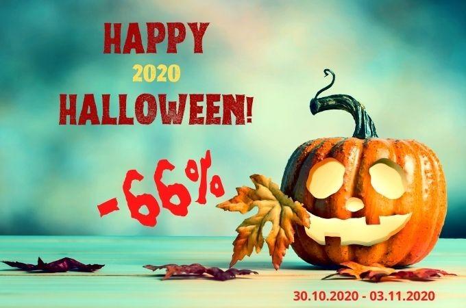 Акция на Хэллоуин 2020: страшные скидки!