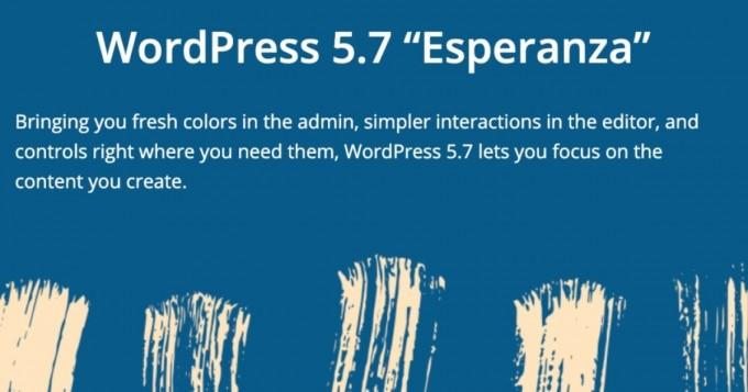 Wordpress 5.7 Esperanza: что изменилось?